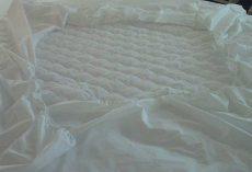 Elizabeth körgumis matracvédő