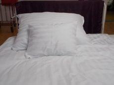 Csíkos damaszt ágyneműhuzat garnitúra (3 részes, 200-as)